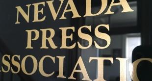 Nevada Press sign