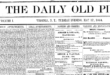 Started by John K. Lovejoy in spring 1864, the Daily Old Piute lasted less than a year.