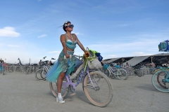 Burning Man by Andy Barron