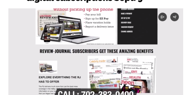 Review-Journal starts subscription for online news | Nevada Press